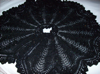 A Victorian knitted circular cape