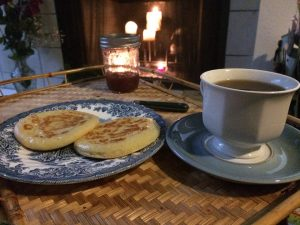 crumpets and tea