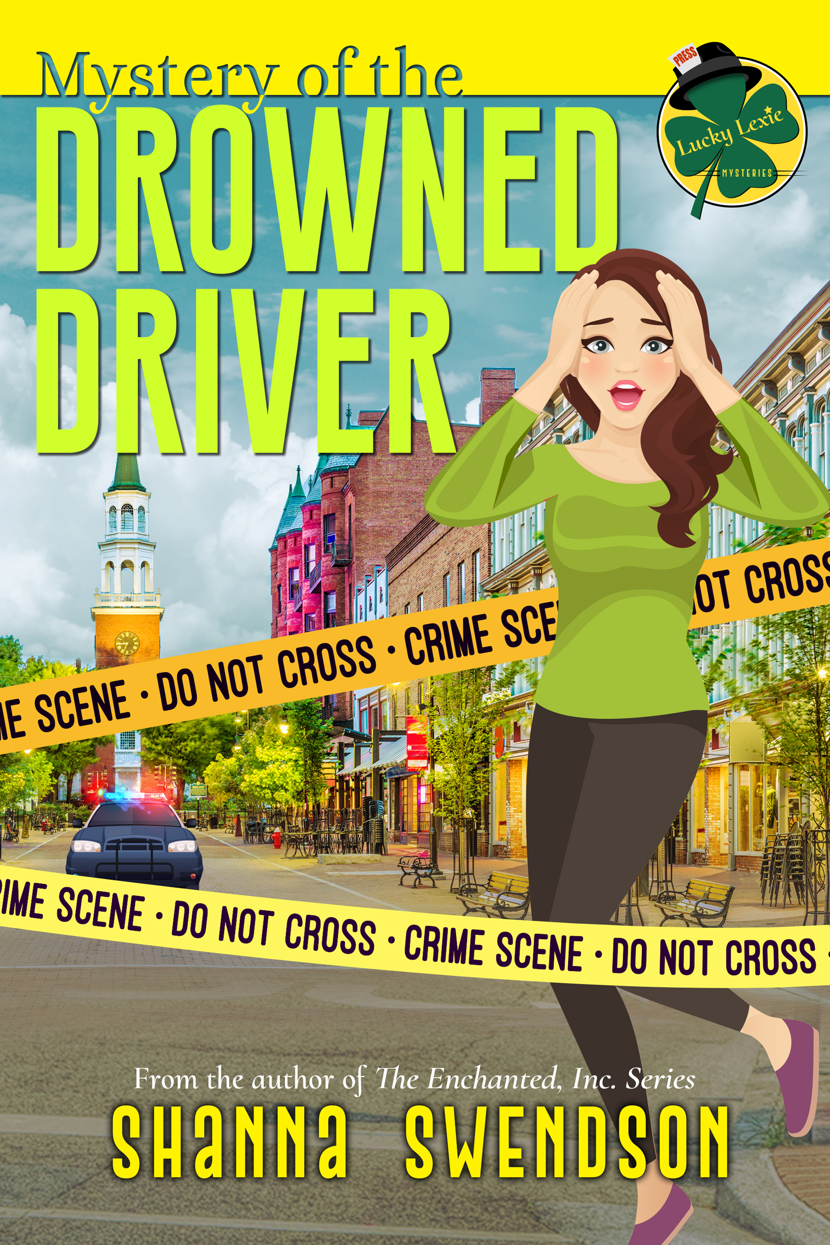 Mystery of the Drowned Driver Book Cover